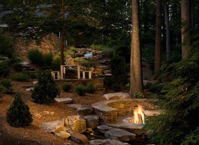 Backyard Landscaping Charlotte Nc Photo Gallery