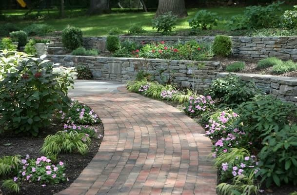 Image from - Picturesque front garden pathway ideas ...