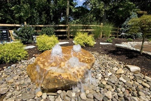 Boulder fountaincountry landscape designno limits for Find local garden designers