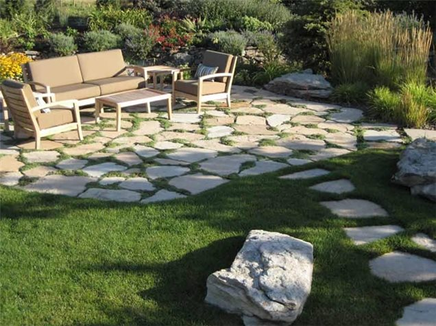 Landscape Stone Ground Cover : Country landscape design denver co photo gallery