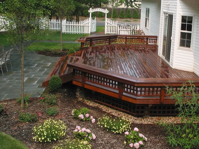 Deck design stony brook ny photo gallery for Deck landscape design