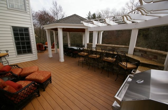 Deck Design Doylestown Pa Photo Gallery Landscaping