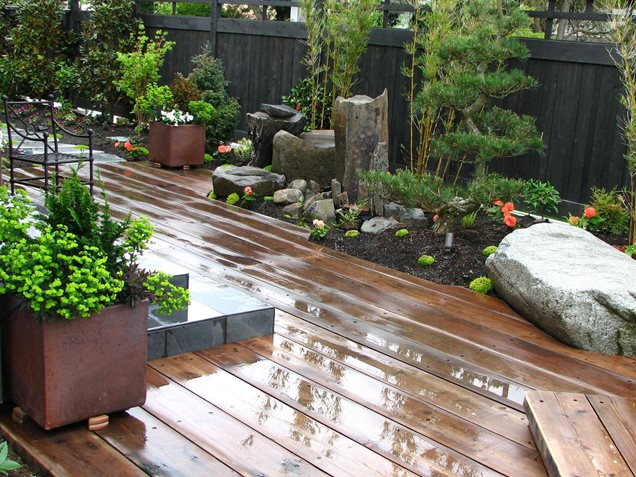Diy wood design max 39 s woodworking plans for Japanese decking garden
