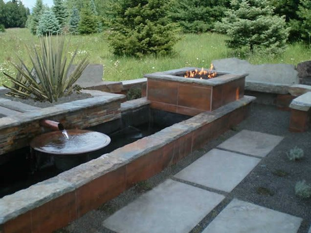 fire pit boise id photo gallery landscaping network. Black Bedroom Furniture Sets. Home Design Ideas