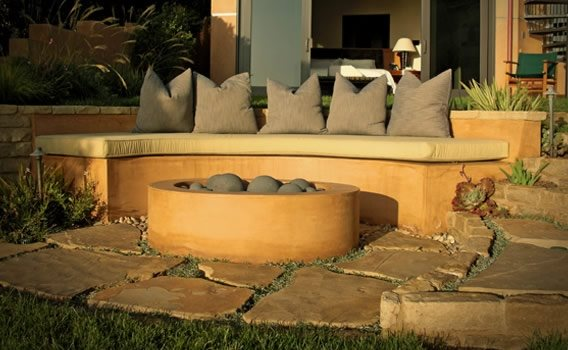 Fire Pit - Costa Mesa, CA - Photo Gallery - Landscaping Network
