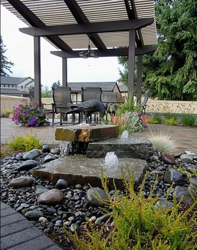 Fountain Battle Ground Wa Photo Gallery Landscaping Network