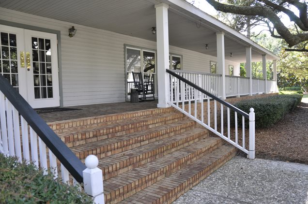 Front porch calimesa ca photo gallery landscaping - Brick porch steps designs ...