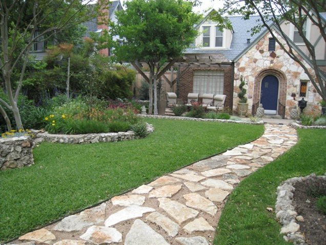 Landscaping Ideas Front Yard Walkway Pdf