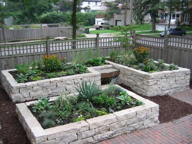 Garden design eden prairie mn photo gallery for Concrete raised garden bed designs