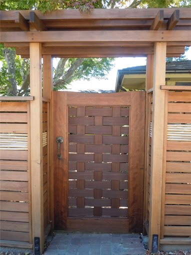 Fence Gate Design Ideas