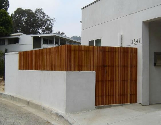Modern Privacy Fence and Gates