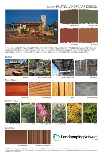 Landscape Design Sheet