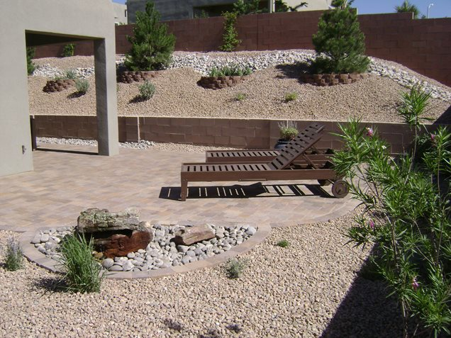 Desert Backyard Designs : Backyard Landscaping Ideas In New Mexico  2017  2018 Best Cars