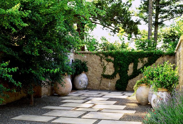 Mediterranean landscaping san fransisco ca photo gallery landscaping network - Mediterranean backyard designs ...