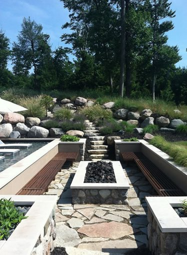 Michigan landscaping grand rapids mi photo gallery for Landscaping rocks grand rapids mi