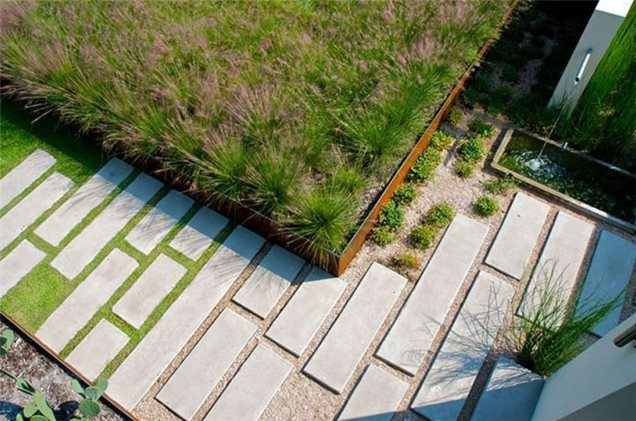 Modern Landscaping - Dallas, TX - Photo Gallery - Landscaping Network