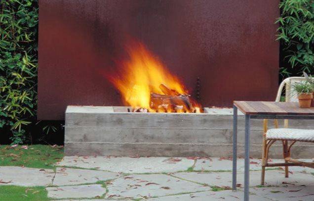 Custom Backyard Fire Pits : customfirepitbackyardfirepitkoningeizenbergarchitecture609