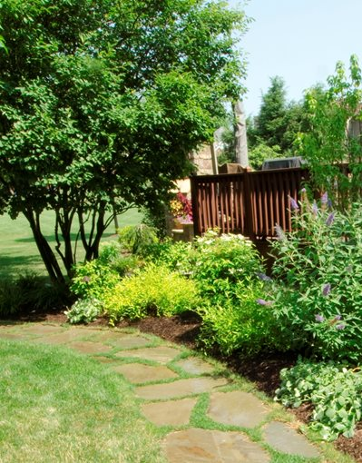 Landscaping Ideas Ohio : Landscape guide small yard landscaping ideas midwest brewing