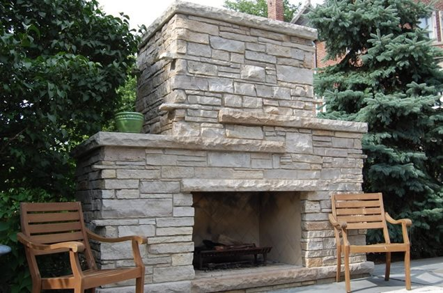 Outdoor Stone Fireplace Outdoor stone fireplace - Similiar Outside Stone Fireplaces Keywords