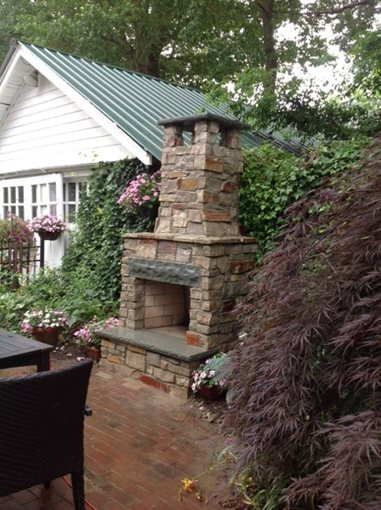 outdoor fireplace brick nj photo gallery
