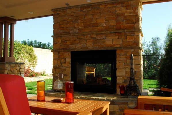 Outdoor Fireplace Orange Ca Photo Gallery Landscaping Network
