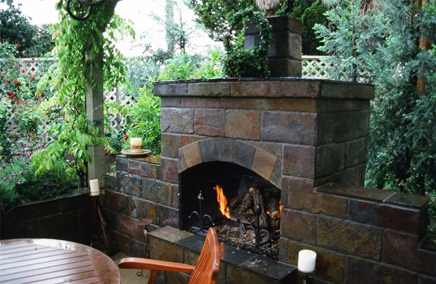 outdoor fireplace morongo valley ca photo gallery