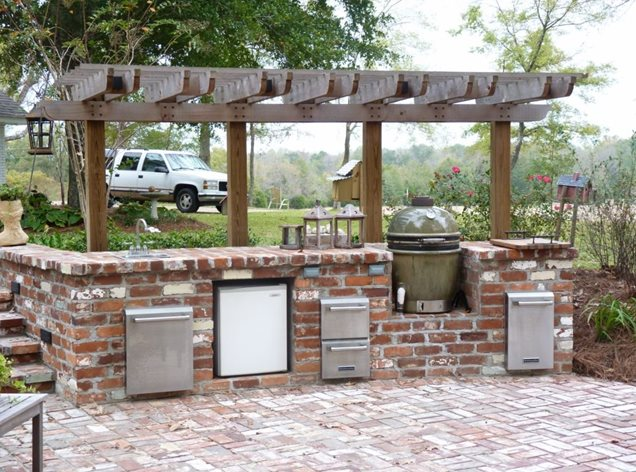 Gallery For Outdoor Kitchens Smoker