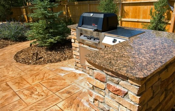 outdoor kitchen parker co photo gallery landscaping