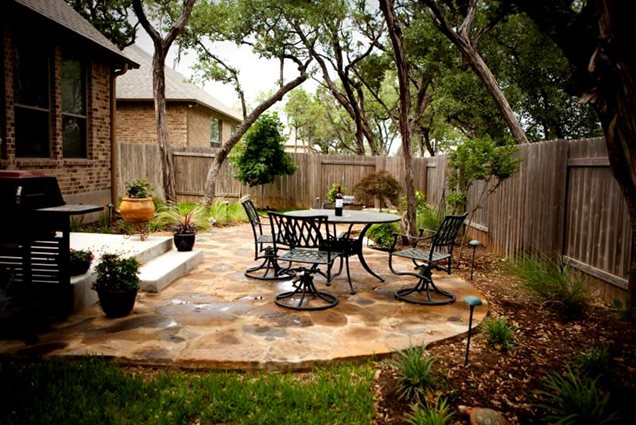 Patio Designs For Small Backyards In Texas
