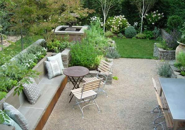 Backyard Mulch Patio : gravelpatiopermeablepatioscotteckleyinc126jpg