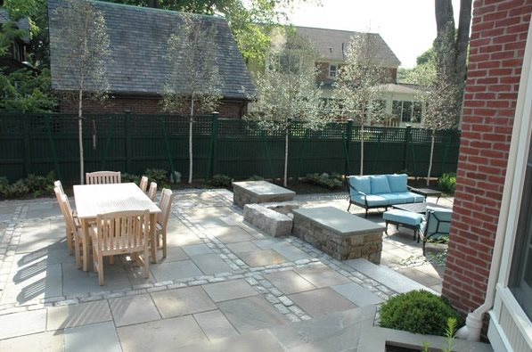 multi level patio designs conceptual landscape design for multilevel paving stone patio two level patio designs - Multi Level Patio Designs