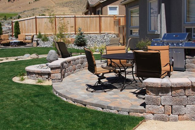 ... Garden Design With Patio Huntsville, AL Photo Gallery Landscaping  Network With Where To Buy Lemongrass