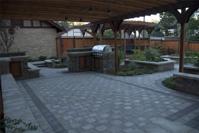 paver patio centennial co photo gallery landscaping