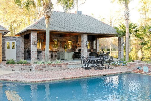 Pool houses baton rouge la photo gallery landscaping network for Homes for sale in baton rouge with swimming pools