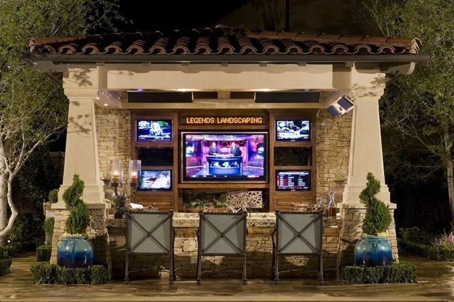 backyard televisions