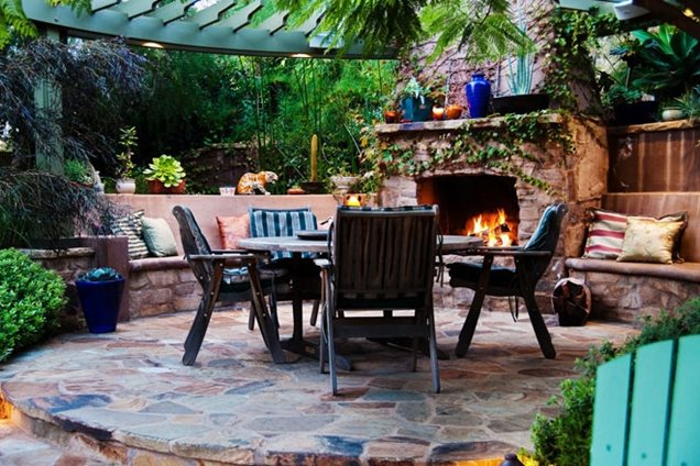 custom outdoor fireplace outdoor fireplace seating terry design inc