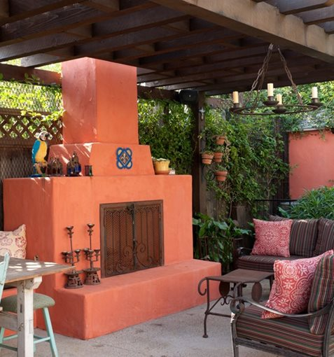 Southwestern Fireplace Los Angeles Ca Photo Gallery