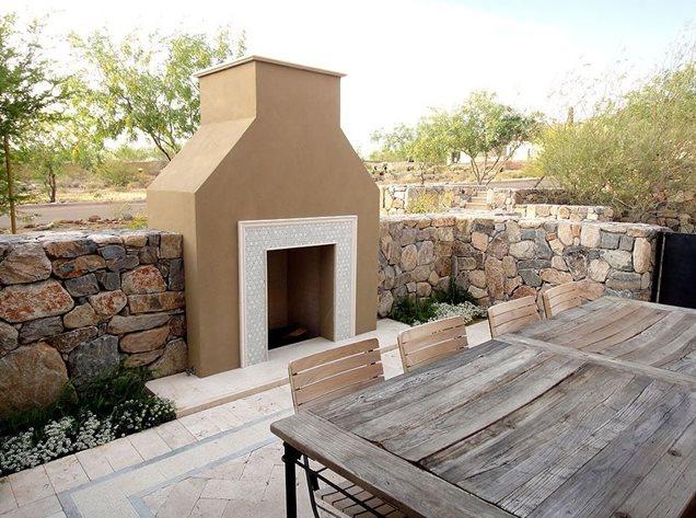 Southwestern Fireplace Scottsdale Az Photo Gallery