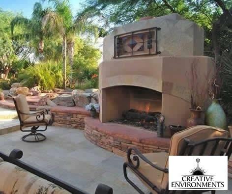 Southwestern Fireplace Tempe Az Photo Gallery