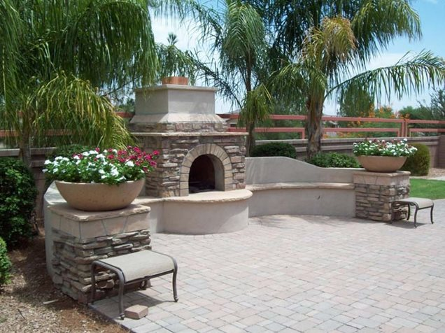 Scaping S Arizona Backyard Landscaping Pictures Bbq Ribs