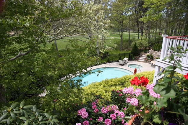 Swimming pool centerville ma photo gallery for Pool design massachusetts