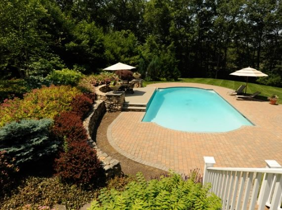Swimming pool georgetown ma photo gallery for Pool design massachusetts