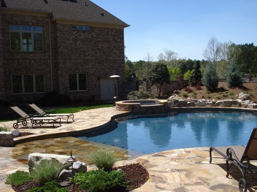 Swimming pool raleigh nc photo gallery landscaping network for Swimming pool supplies raleigh nc