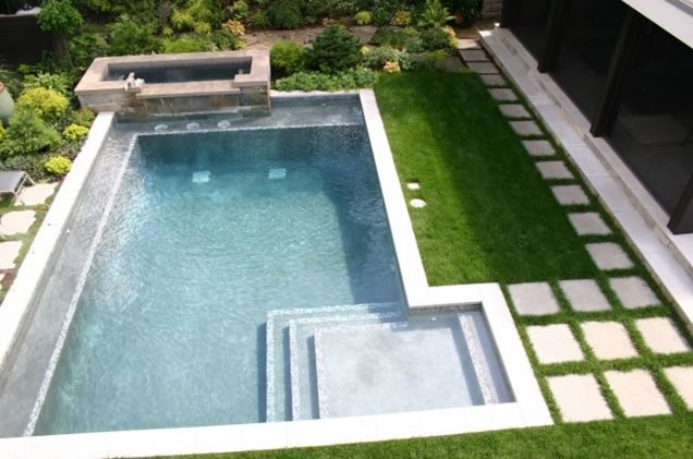 Swimming pool minneapolis mn photo gallery for Modern contemporary swimming pools