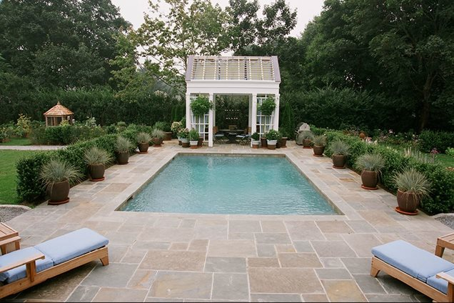 Swimming pool east moriches ny photo gallery for Pool landscaping ideas
