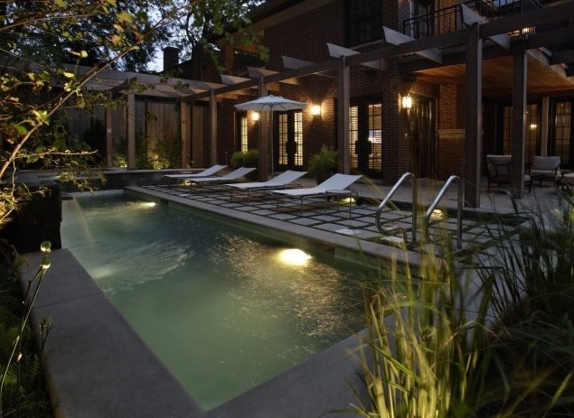 Swimming Pool Northfield Il Photo Gallery Landscaping Network