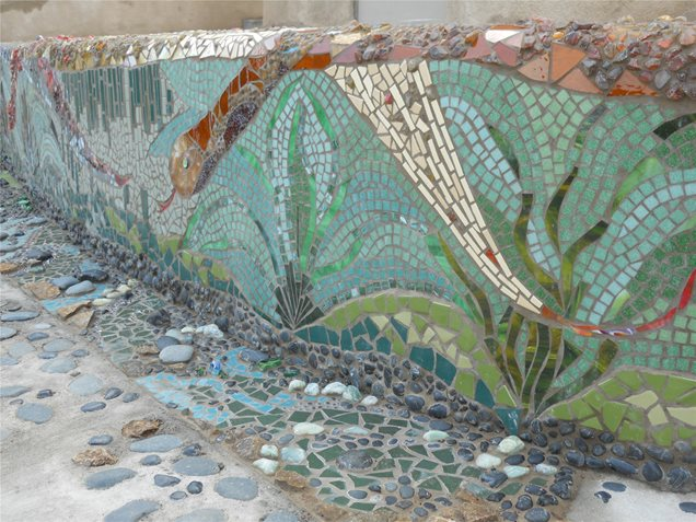 Tropical landscaping calimesa ca photo gallery for Mosaic landscape design