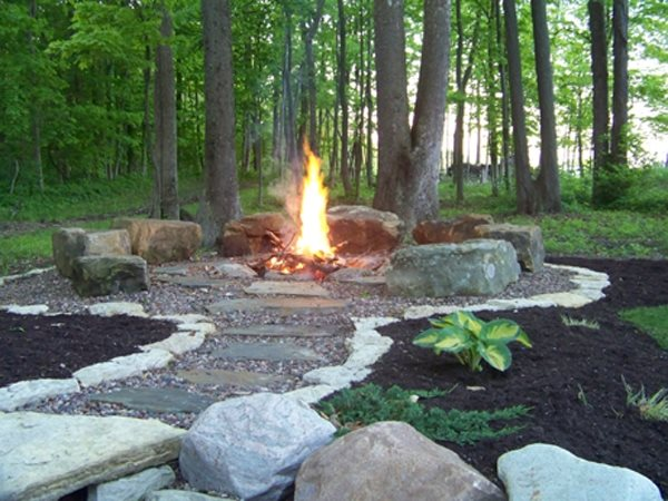 Bonfire Pits And Fire Rings Traditional Designs