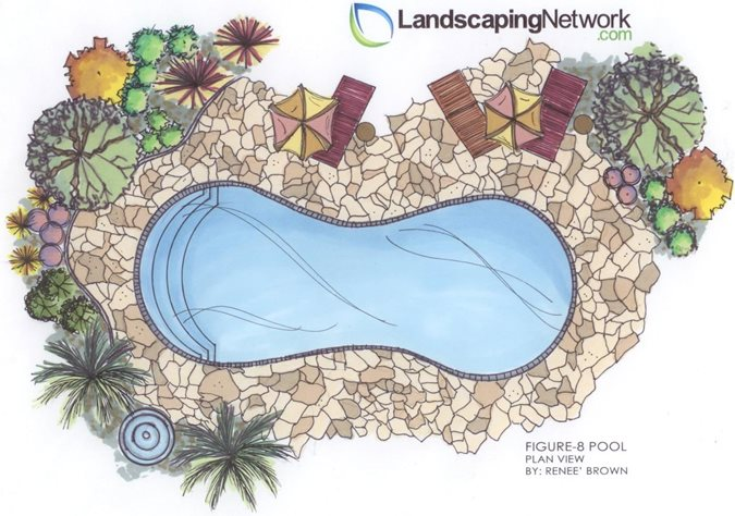 Pool Shapes swimming pool shapes - landscaping network