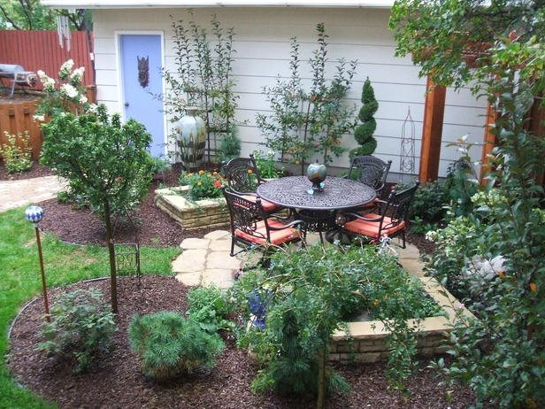 Small Backyard Design - Landscaping Network on Small Backyard Layout id=99338